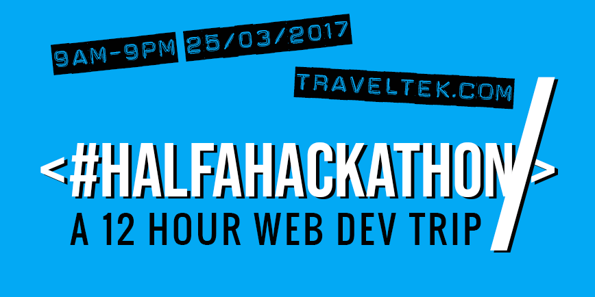 Our First Hackathon is on March 25th 2017